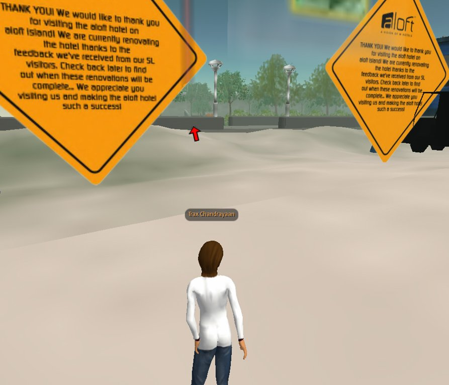 Virtual Aloft in Second Life