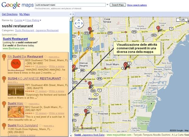 Gmaps real-time-search