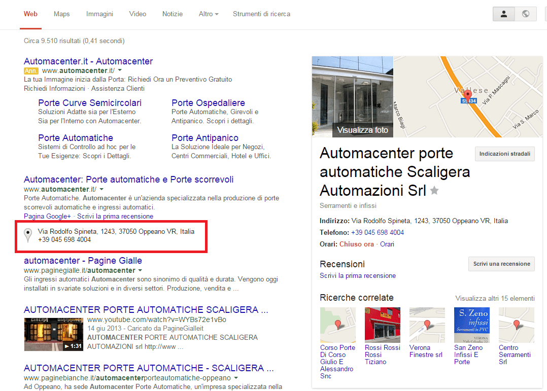local seo automacenter
