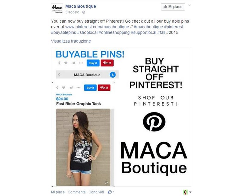Maca Boutique buyable pins