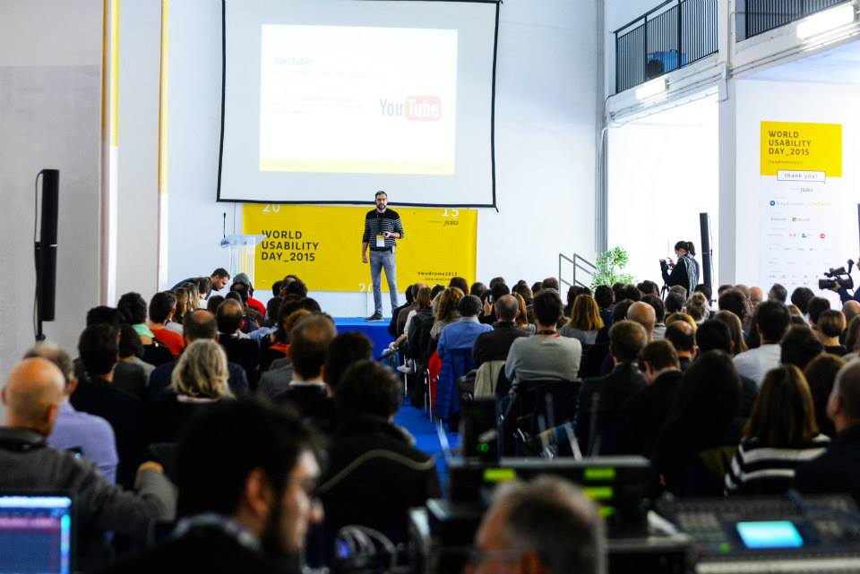 World Usability Day 2015 Roma