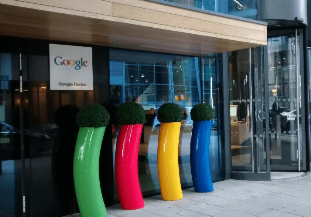 Google Docks Dublino Luisa
