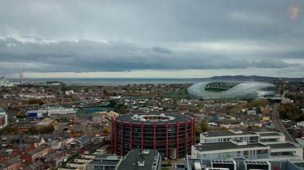 panoramica google docks dublino
