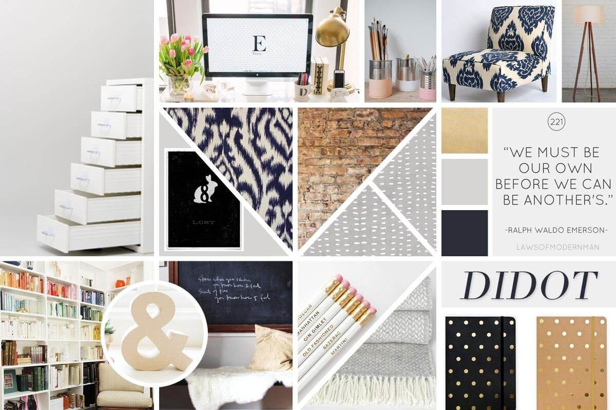 Designer e clienti mood board style tile e style guides for Siti di interior design