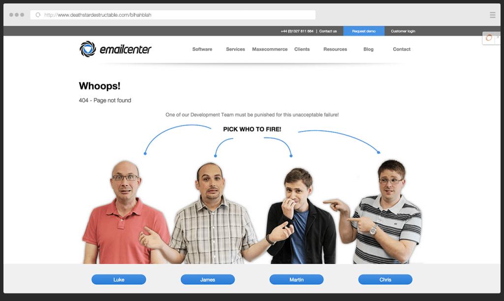 pagina 404 esempio