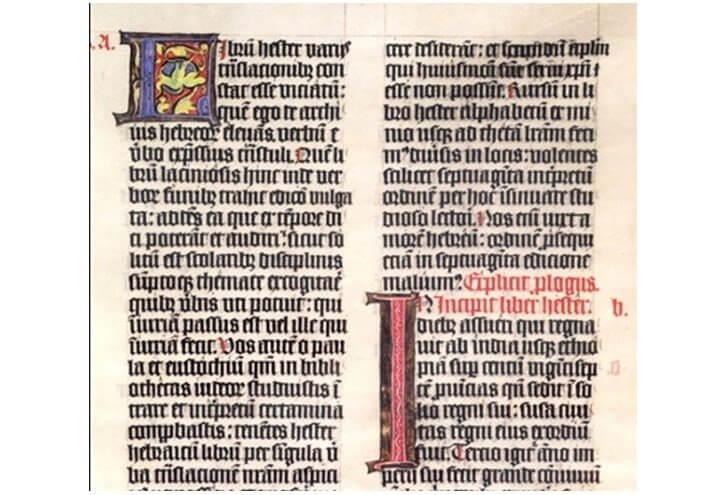 textura scrittura gotica