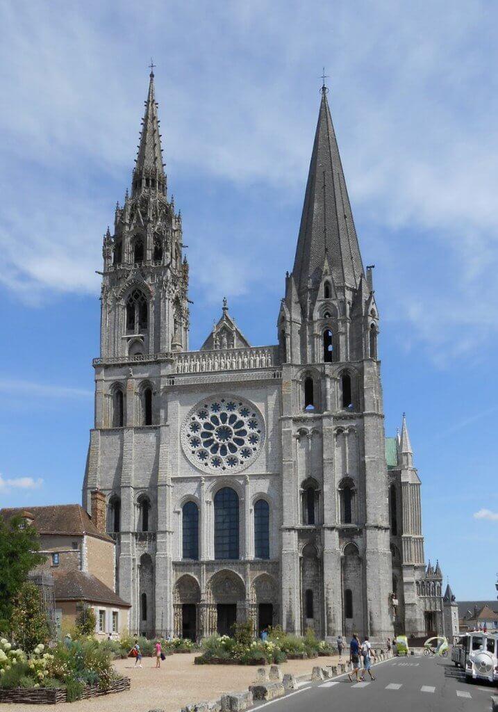 cattedrale di chartres e textura