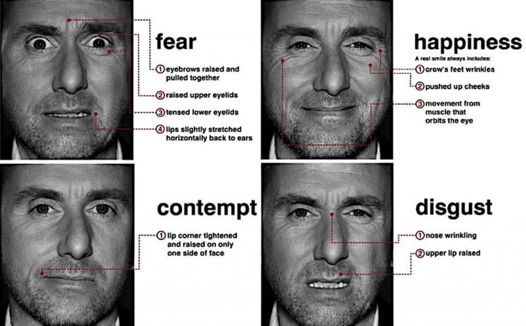 face reading emozioni facciali