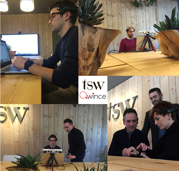 TSW e Qwince neuromarketing