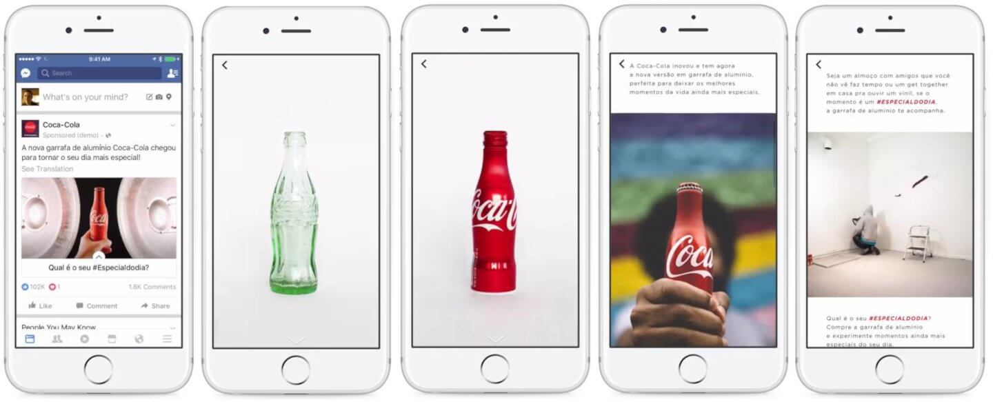 canvas facebook coca cola tsw