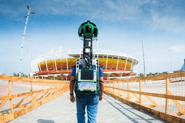 olimpiadi rio 2016 Google Street View