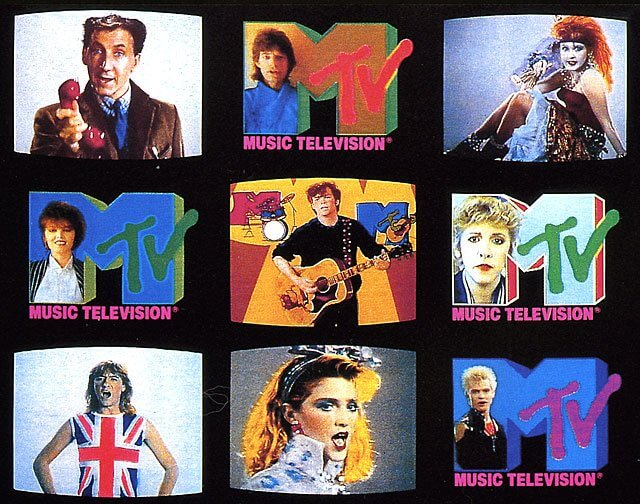 I Want My MTV! Campagna di Advertising MTV 1984