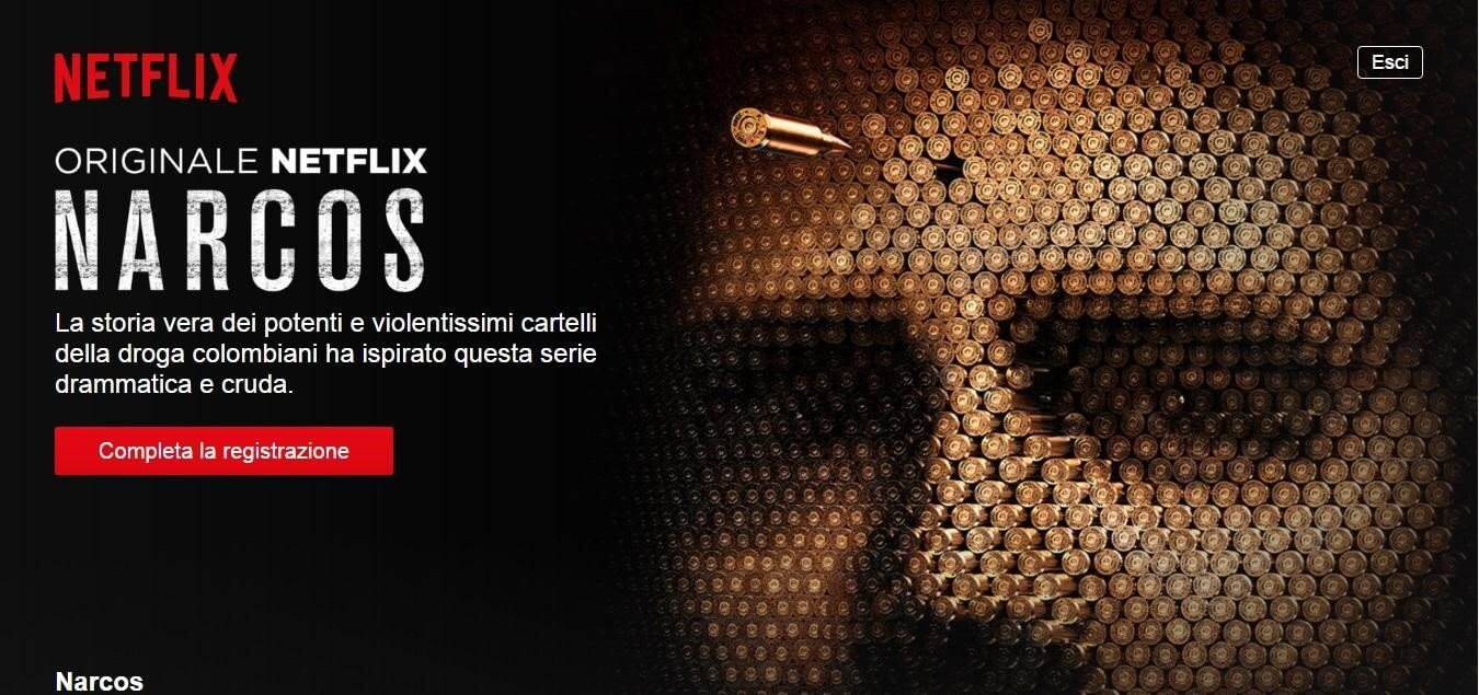 netflix narcos native advertising