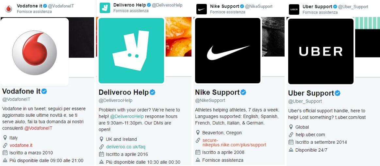 twitter brands customer care