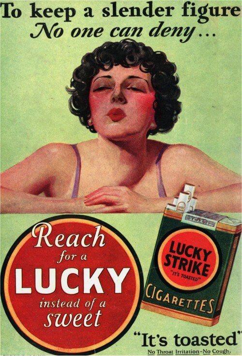 Pubbliche Relazioni Subconscio e Sigarette