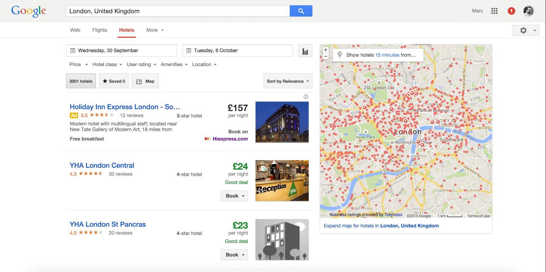 google-travel-ota