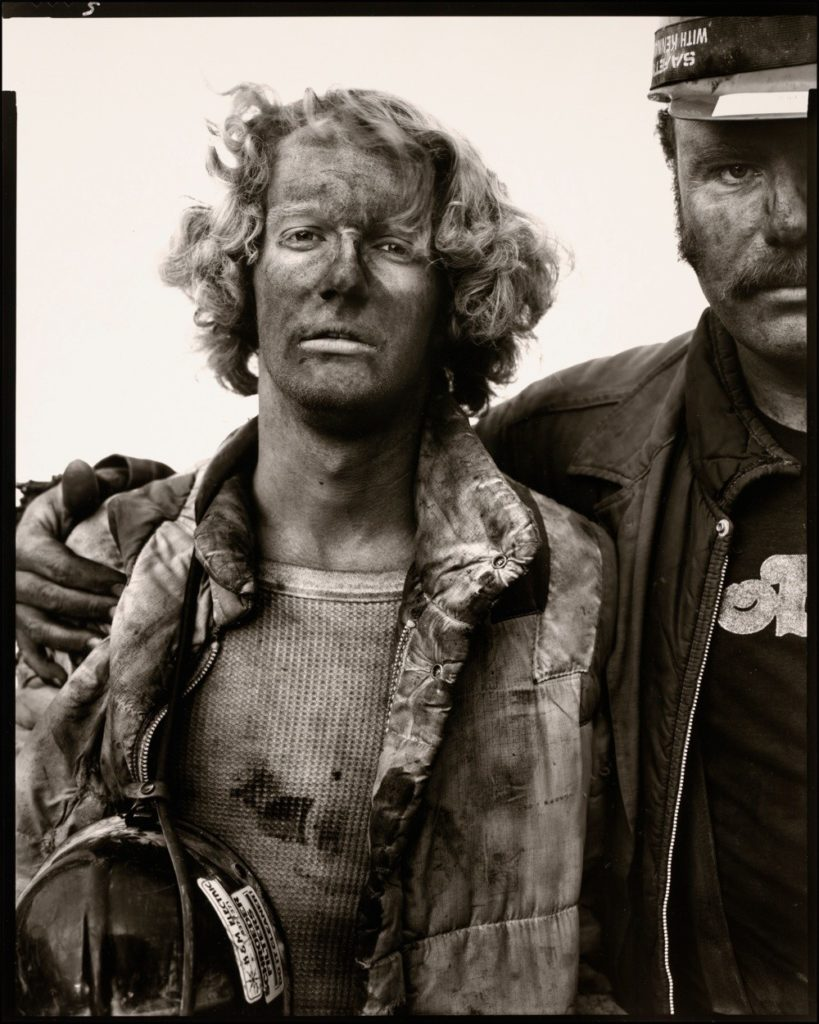 Mike Bencich, Dan Ashberger, coal miners
