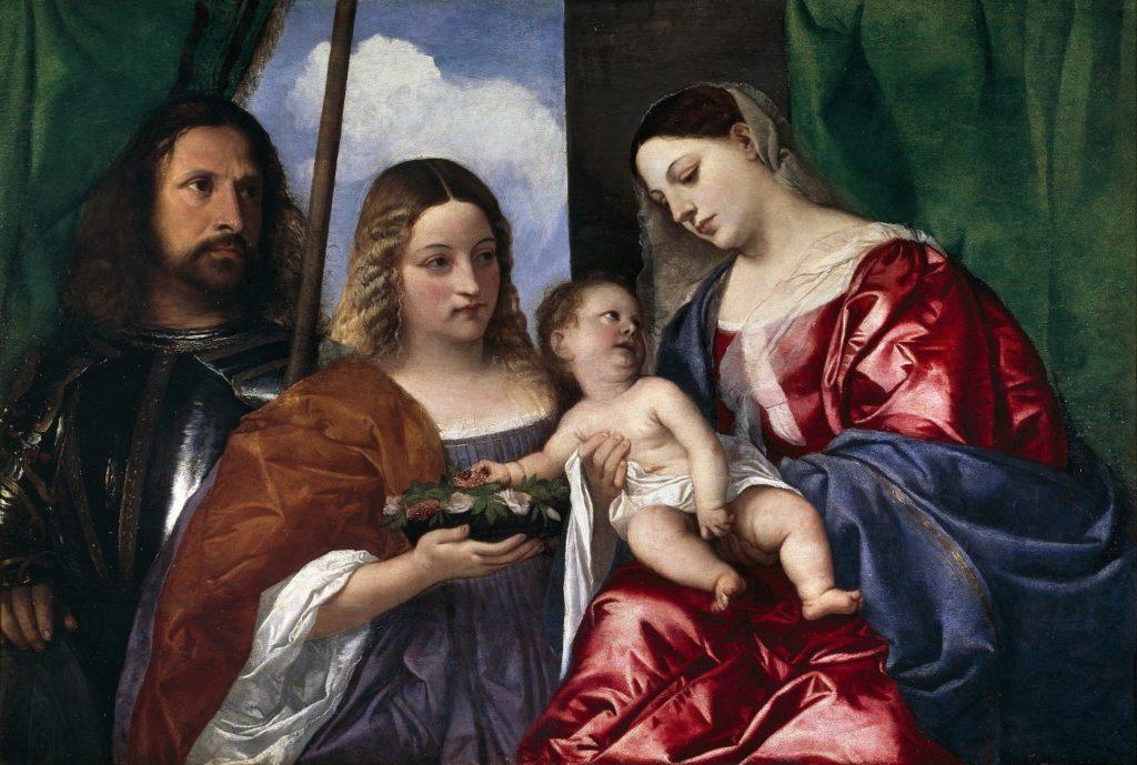 Madonna tra i santi Giorgio e Dorotea