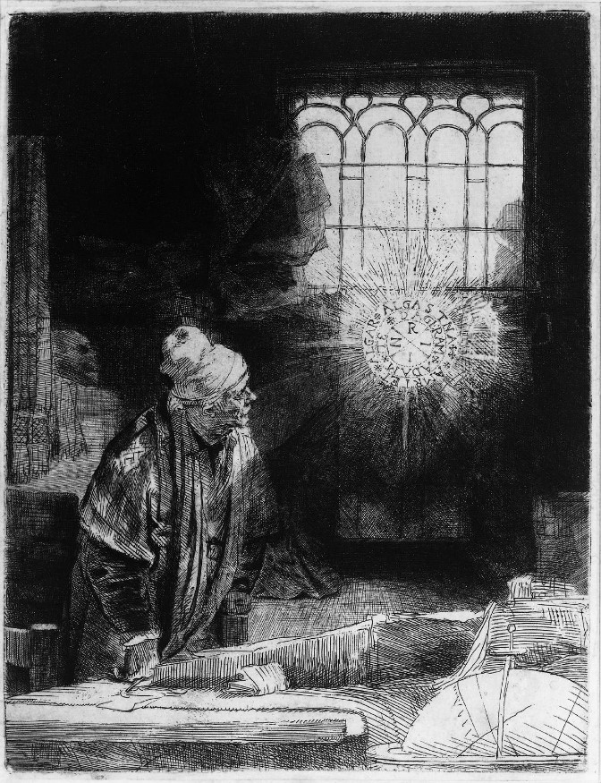 Rembrandt – Faust