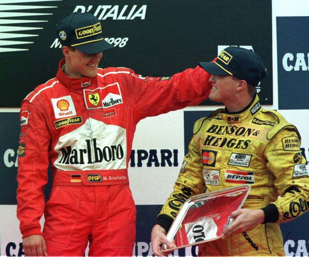 GP_d'Italia_1998_-_Michael_(Ferrari)_e_Ralf_Schumacher_(Jordan)